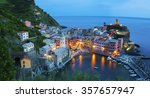 panorama of resort village... | Shutterstock . vector #357657947