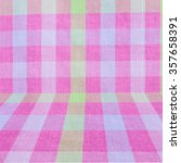 pink classic checkered... | Shutterstock . vector #357658391