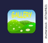 gallery. icon. vector design | Shutterstock .eps vector #357669821