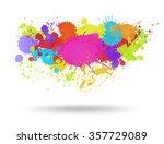 Multi Color Blots Background....