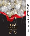 grand opening cards with... | Shutterstock .eps vector #357730349