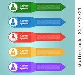 multi purpose infographic... | Shutterstock .eps vector #357772721