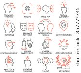 vector set of 16 icons related... | Shutterstock .eps vector #357772745