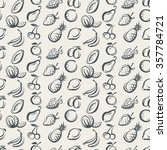 seamless background of various... | Shutterstock .eps vector #357784721