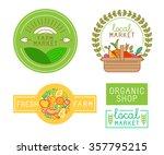 vector logo design template... | Shutterstock .eps vector #357795215