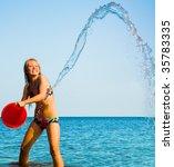 bucket full of fun | Shutterstock . vector #35783335