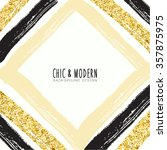 modern chic vector design | Shutterstock .eps vector #357875975