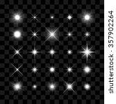 starburst  stars and sparkles...   Shutterstock .eps vector #357902264