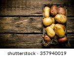 Raw Potato Food . Potatoes In...