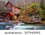Gristmill And Flowing Water At...