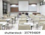 blur classroom education...   Shutterstock . vector #357954809