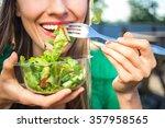 portrait of attractive... | Shutterstock . vector #357958565