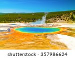 Yellowstone National Park. ...