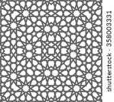 ornamental pattern. arabic... | Shutterstock .eps vector #358003331