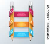 abstract 3d digital... | Shutterstock .eps vector #358020725