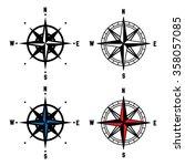 compass vector illustration   Shutterstock .eps vector #358057085
