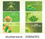 different pattern patrick's day ...   Shutterstock .eps vector #35806591