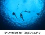 scuba diving | Shutterstock . vector #358093349