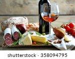 still life with various types... | Shutterstock . vector #358094795