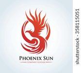 phoenix logo eagle logo vector...
