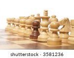 out of the crowd  chess...   Shutterstock . vector #3581236