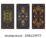 illustration design for tarot...   Shutterstock . vector #358125977