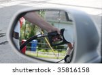 someone putting gas in a car...   Shutterstock . vector #35816158