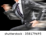 businessman to run | Shutterstock . vector #358179695