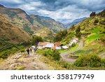 Small photo of Landscape of Santa Cruz Trek, Huascaran National Park in the Andes of Peru