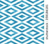 seamless aztec pattern vector... | Shutterstock .eps vector #358186181