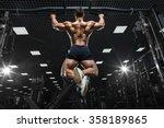 athlete muscular fitness male...   Shutterstock . vector #358189865