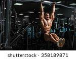 athlete muscular fitness male... | Shutterstock . vector #358189871