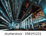 industrial zone  steel... | Shutterstock . vector #358191221