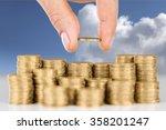 loan. | Shutterstock . vector #358201247