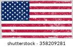 vector grunge usa flag.american ... | Shutterstock .eps vector #358209281