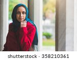 Young Arab Woman Portrait In...