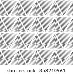 slanting lines clipped in... | Shutterstock .eps vector #358210961