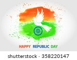 indian independence  republic... | Shutterstock .eps vector #358220147