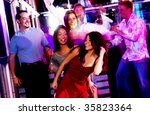 young adults at nightclub