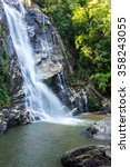 Small photo of Mae Tia waterfall, Ob Lung national park in Chiangmai Thailand