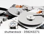 open hard drives in bulk | Shutterstock . vector #358243271