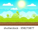 game background made from... | Shutterstock .eps vector #358273877