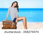 woman. | Shutterstock . vector #358274474