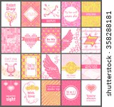 set  collection of valentine's... | Shutterstock .eps vector #358288181