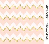 Modern Chic Zig Zag Background...