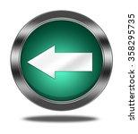 arrow button isolated  | Shutterstock . vector #358295735