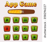 game assets cartoon colorful...