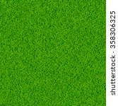 green grass vector background | Shutterstock .eps vector #358306325