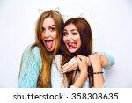 indoor fashion lifestyle... | Shutterstock . vector #358308635