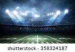 american football stadium | Shutterstock . vector #358324187